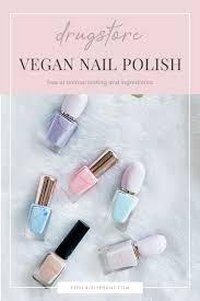 vegan nail polish brands