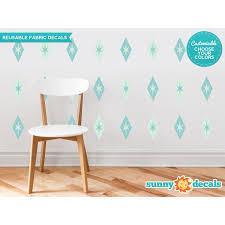 Sunny Decals Diamond And Stars Fabric Wall Decal Wayfair