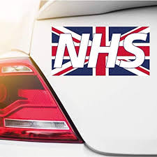 Nhs Key Workers Thank You Rainbow Car Window Sticker Also For Homes Cafes Shops Walmart Com Walmart Com