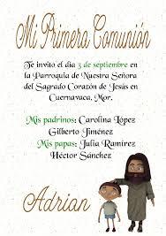 Invitaciones De Primera Comunion Y Bautizo Juntos