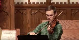 Wesley Beck (violin) and Phil Sparks... - Munholland United Methodist  Church | Facebook
