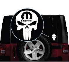 Punisher Mopar Window Decal Sticker Sticker Flare Llc