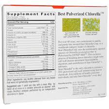 sun chlorella a granules 20