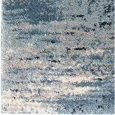 spartan 5 x 8 area rug in cream blue poly