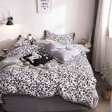 black leopard print bedding sets kids