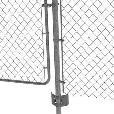 2 3 8 Galvanized Chain Link Post Anchor At Menards