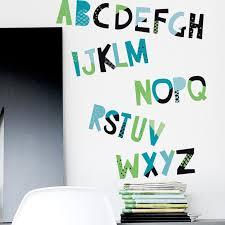 Trendy Peas 26 Piece Alphabet Wall Decal Set Wayfair