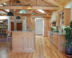 bestlaminate wood floors with oak cabinets