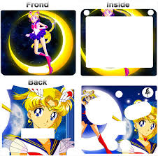 Sailor Moon Cartoon Skin Vinyl Sticker Cover Decal For Nintendo Gba Sp Ebay