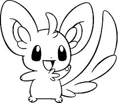 Kleurplaten Pokemon Minccino Kleurplaten Pokemon