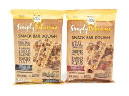 nestle toll house snack bar dough