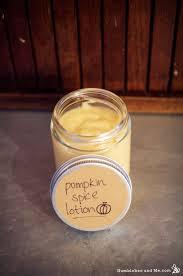 pumpkin e body lotion recipe