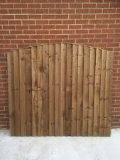 Arched Top Feather Edge Fence Panels Pressure Treated Close Board Fence Panels Feather Edge Fence Panels Paneling