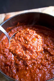 homemade meat sauce recipe