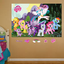 Shop Fathead My Little Pony Mural Wall Decals Overstock 9601355