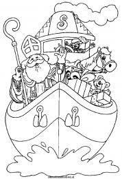 Sinterklaas Kleurplaten Boeken Bij Sintenkerst