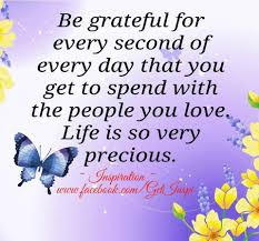 i m grateful for a beautiful weekend my family i have so