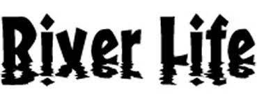 River Life Sunset Font Vinyl Decal Sticker Car Truck Tattoo 8 X 2 5 Ebay