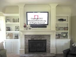 wall mount tv over fireplace i