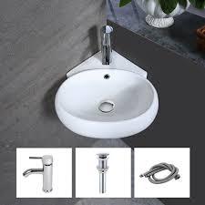 ceramic 21 wall mount bathroom sink