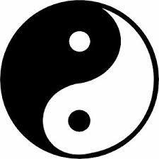 Large Yin Yang Symbol Spiritual Zen Buddha Tao Sticker Vinyl Car Window Decal