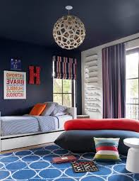 Car Rugs For Toddlers Contemporary Kids Also Area Rugs Blue Red Curtains Blue Rug Blue Stripe Bedding Blue Walls Boys Bedroom Metal Monogram Letter Quotes Wall Art Red Blue Boys Room Roman