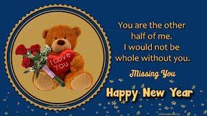 happy new year my love i miss you wishes quotes