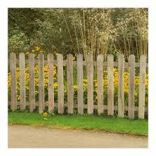 Forest Garden Heavy Duty Pressure Treated Pale Fence Panel 6 X 3ft Wilko