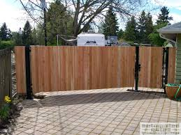 Wood Swing Gate Driveway Automated Custom Wood Electric Gate Vehicle Security Wooden Garden Gate Wood Swing Wood Gate