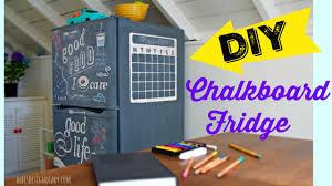 Trash To Treasure Diy Chalkboard Fridge Diy Furniture Paint Tribute To My Mom Youtube
