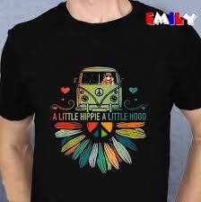 Hippie Car A Little Hippie A Little Hood T Shirt Hoodie Tank Top