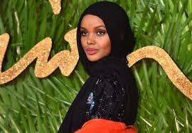 Three black Muslim models grace Vogue Arabia cover in hijabs   The Voice  Online