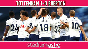 Tottenham 1 - 0 Everton | EPL Highlights