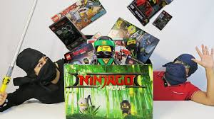 UNBOXING The LEGO Ninjago Movie Box - Special Exclusive Gift - 2017 FULL  REVIEW! - YouTube