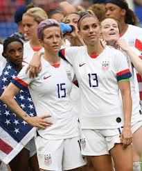 Megan Rapinoe & Alex Morgan On The Equal Pay Ruling