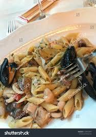 Seafood Pasta Venice Italy