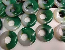 6pcs larger 60mm natural agate gemstone