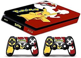 Amazon Com Skin Ps4 Slim Pokemon Limited Edition Decal Cover Adesiva Playstation 4 Slim Sony Bundle Home Improvement