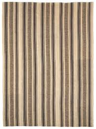 a large striped flatweave rug the
