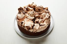 this meringue topped cake will make you