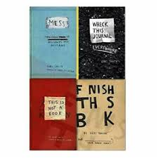 Keri Smith Do Not Open This Box 4 Books Collection Set Wreck This Journal  Mess | eBay