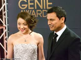 Leah Gibson, Adam Beach, Genie Awards 2012 | Alan Langford | Flickr