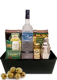 vodka gifts three olives gift baskets