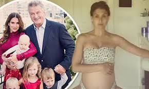 Hilaria Baldwin says criticism for using nanny is 'not fair' | Daily Mail  Online
