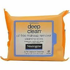 oil free makeup remover cleansing wipes