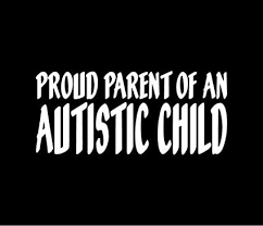 Decor Decals Stickers Vinyl Art Proud Parent Of An Autistic Child Vinyl Decal Car Window Bumper Sticker Autism Home Garden Vibranthns Lk