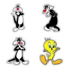 Sylvester Cat Kids Cartoon Car Bumper Window Vinyl Sticker Decal 5 X4 For Sale Online Ebay