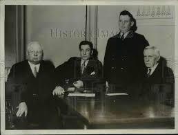 1931 Press Photo Attorneys in Myrtle Bennett Trial, Kansas City, Misso    Historic Images