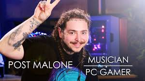 Post Malone - Musician turned PC Gamer - YouTube