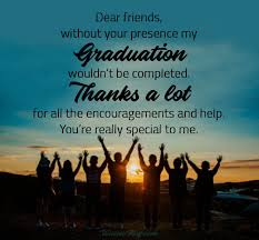 graduation thank you messages notes wording ideas wishesmsg